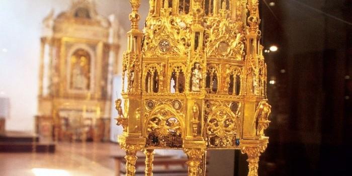 reliquiario santa croce Castignano