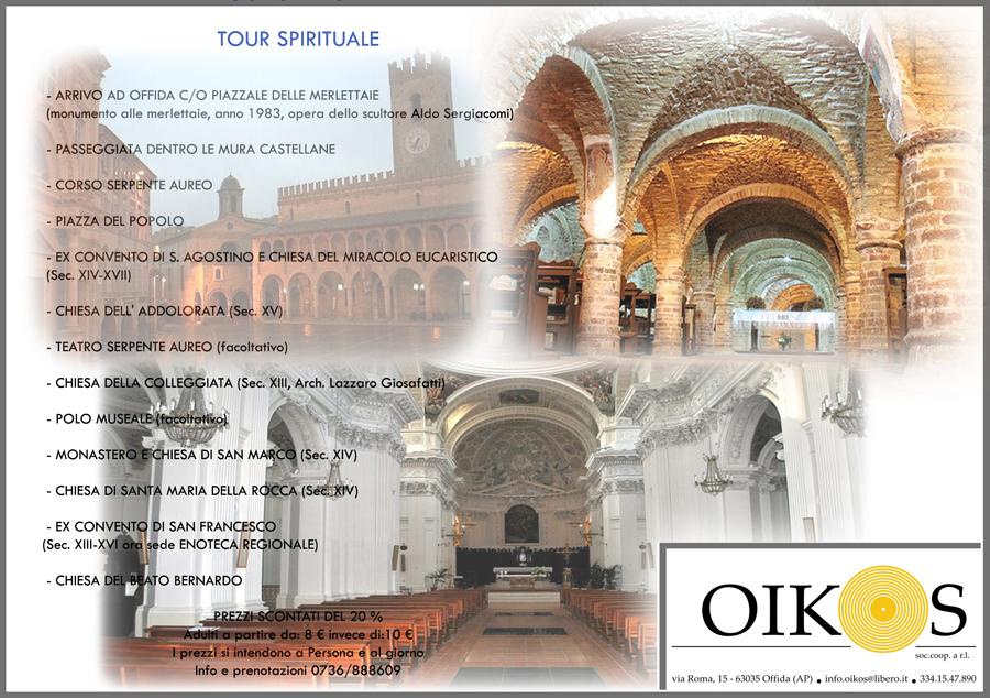tour spirituale offida